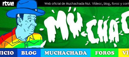 Web oficial de Muchachada Nui
