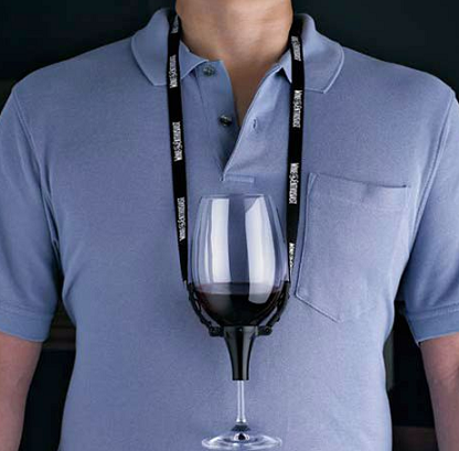 Wine Necklace, el collar del vino