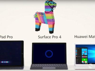 A Huawei le va la marcha y ataca al iPad Pro y Cortana en el último anuncio del Huawei MateBook