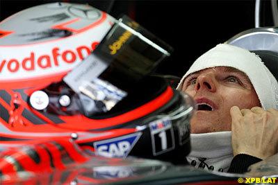 Gené alucina con el 'famoso botón' del McLaren