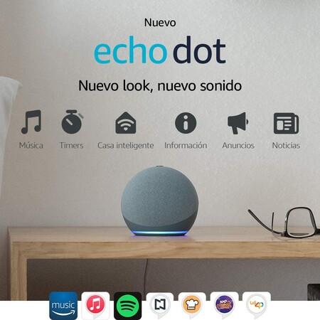 Dispositivos Echo de oferta en Amazon México