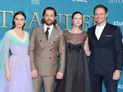 El estreno de la quinta temporada de Outlander nos permite ver el vestido unicornio más bonito de la primavera
