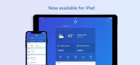 Cortana llega al territorio enemigo y ya está disponible en el iPad de Apple para luchar con Siri