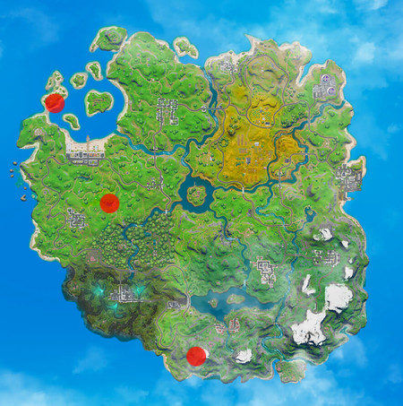 Fortnite Mapa Rampa