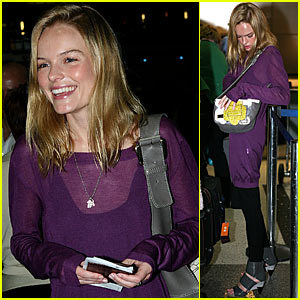 Kate Bosworth en el aeropuerto de Los Angeles