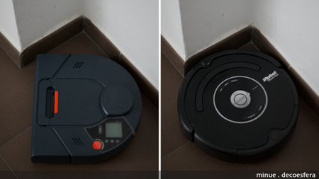 Comparativa neato Roomba - esquinas