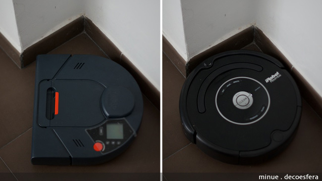 Comparativa neato Roomba - esquinas