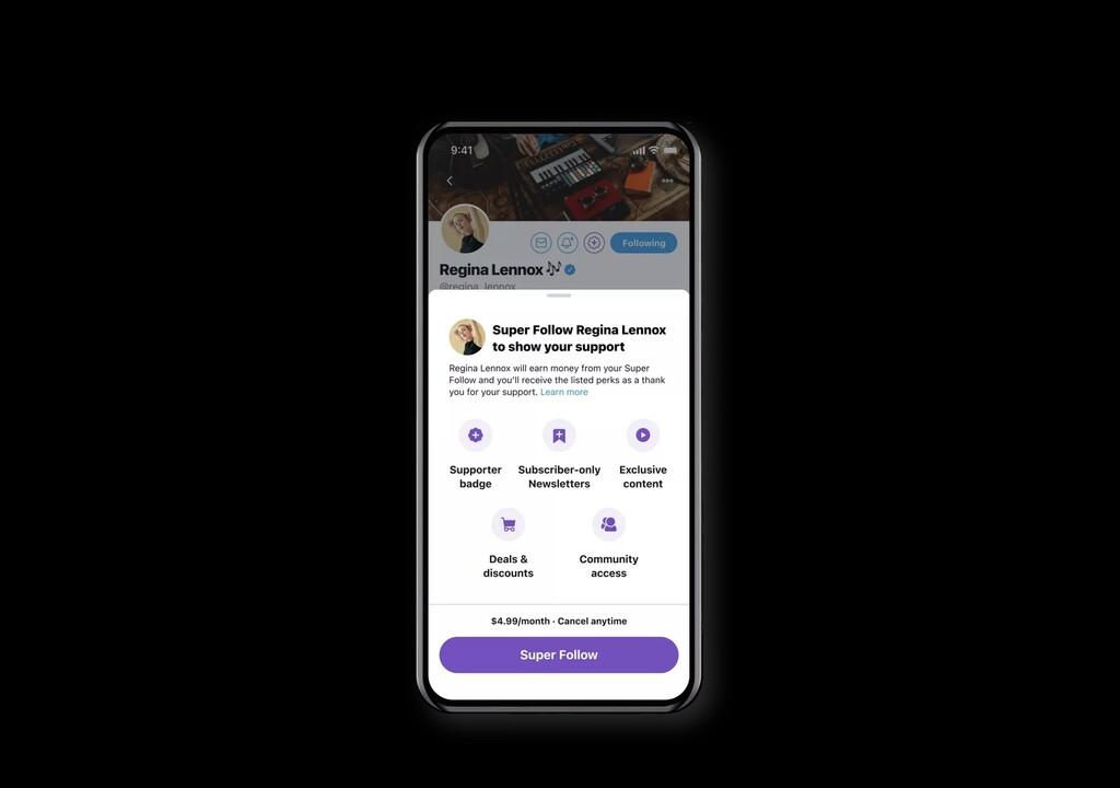 Twitter anuncia el 'Super Follow', la suscripción por 5 dólares al mes mediante la cual los usuarios pagan por contenido exclusivo