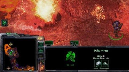 Cameo del Diablo en el Starcraft II