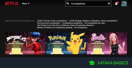 Cómo hacer que Netflix le felicite el cumpleaños a tus hijos