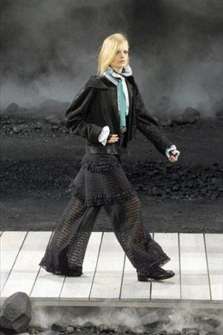Chanel Otoño-Invierno 2011/2012 look