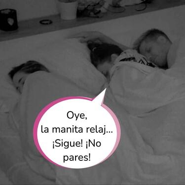 ¿'Élite' o 'La Isla de las Tentaciones 3'? Carlos y Lola se tocan bajo las sábanas mientras que Lucía duerme en la misma cama