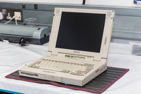 McLaren se está gastando miles de dólares en comprar viejos portátiles Compaq LTE 5280, y tiene su lógica