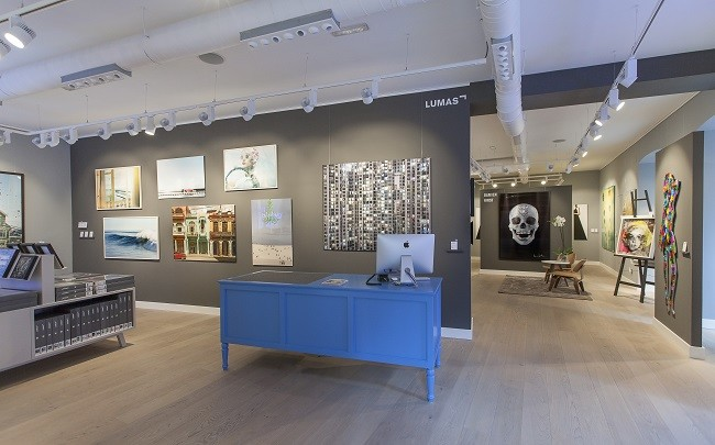 Interior De La Galeria Lumas Madrid 2