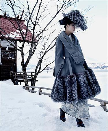 El invierno más fashion en Japón