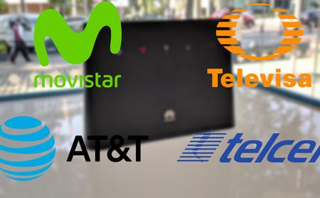 Movistar, AT&T, Televisa y Telcel: así está la competencia del internet doméstico por 4G LTE en México