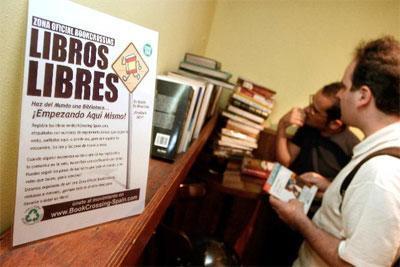 Mañana Seix Barral y Bookcrossing liberan 1000 libros