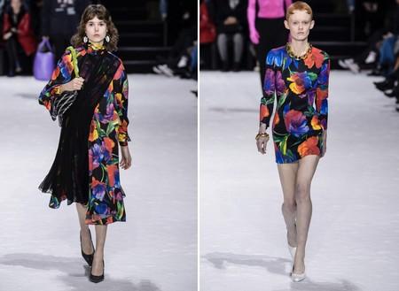 Balenciaga Flowers Aw 2018
