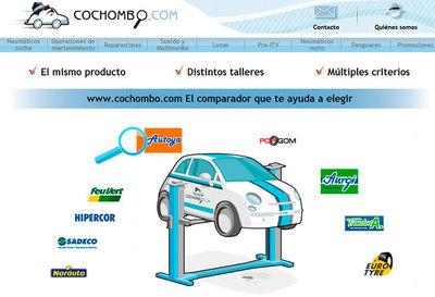 Cochombo, el primer comparador de precios de talleres
