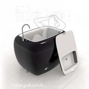 Ladybird: una idea más para baños pequeños