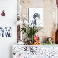 ¿Dejarías que tus invitados pintasen tus muebles?