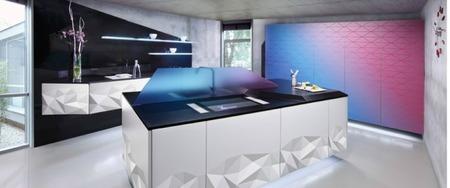 Ártica, la cocina en 3D de Delta Cocinas y  Estudiosat