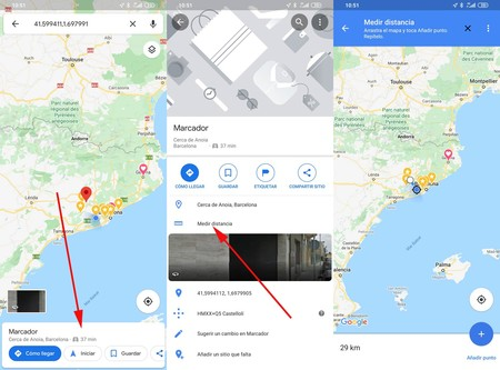 Medir Distancia Google® Maps