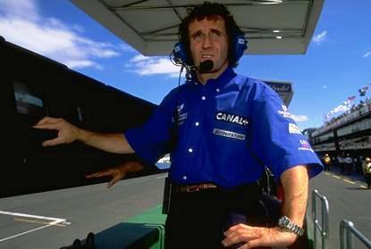 Alain Prost ve a Lewis Hamilton Campeón del Mundo
