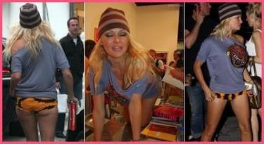 Pamela Anderson y...¡fuera los pantalones!