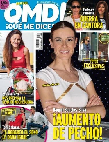 Raquel Sánchez Silva termina el año con un buen aumento de pechonalidad