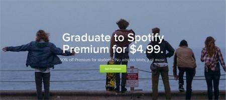 Spotify lanza plan de suscripción para estudiantes