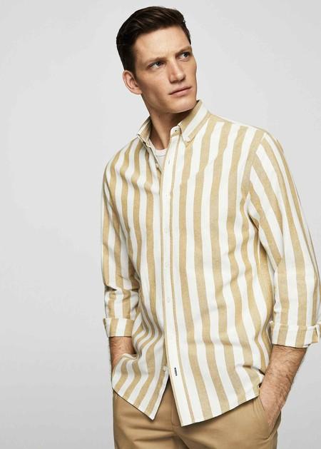 Estas Camisas De Mango Le Agregan Un Guino Setentero A Tu Look Justo A Tiempo Para El Verano 2