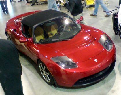Foto espía Tesla Roadster