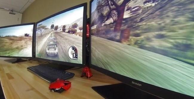 Jugando con varios monitores
