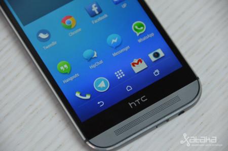 HTC One M8 análisis pantalla