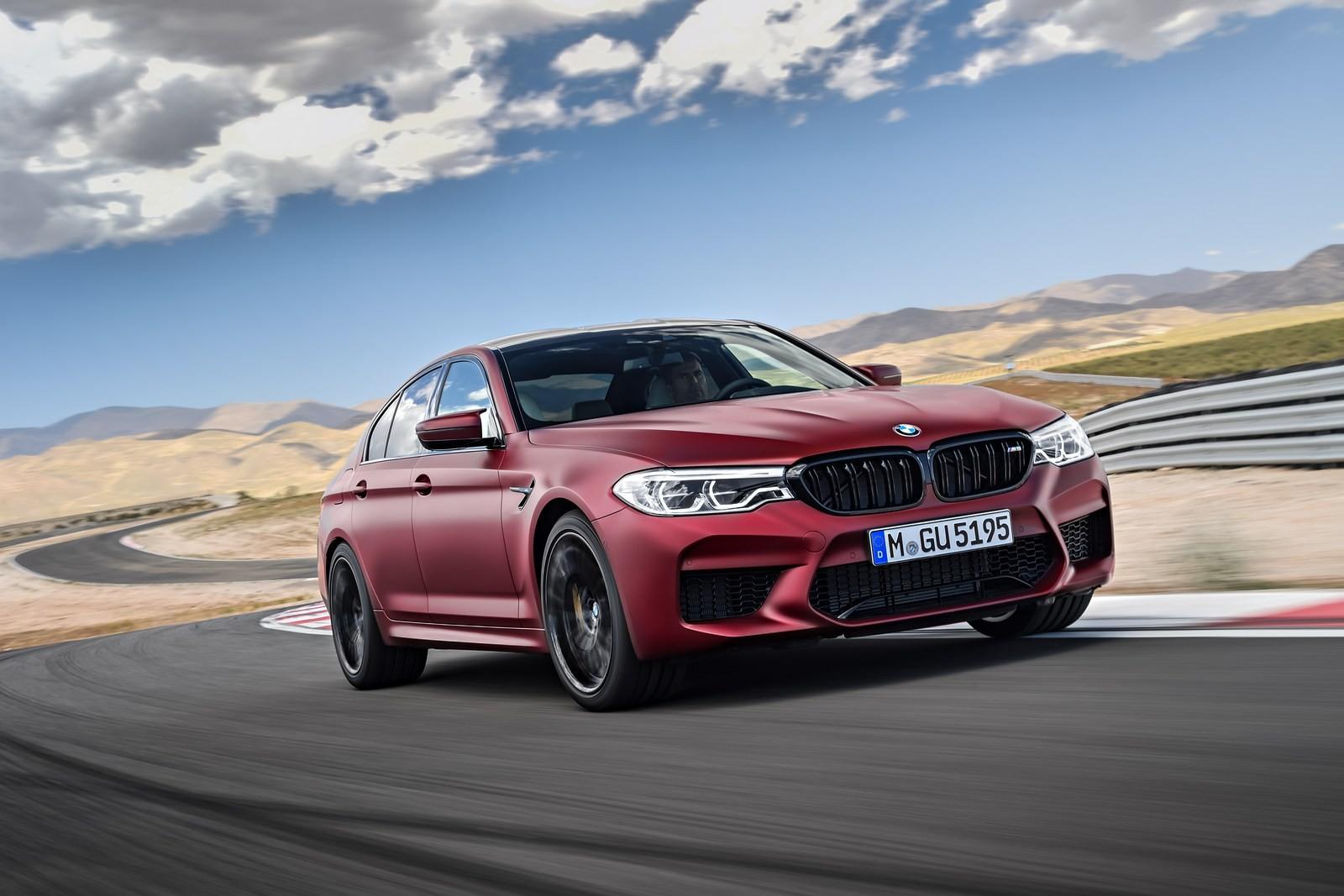 Foto de BMW M5 2018 (33/57)
