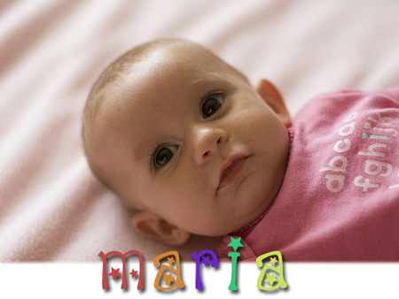 Los nombres más utilizados en España: María