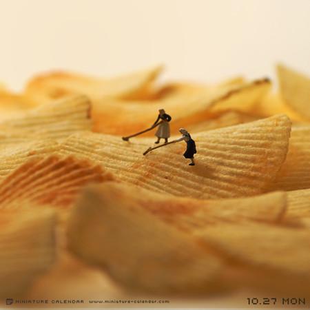 Miniature Calendar Tatsuya Tanaka 15
