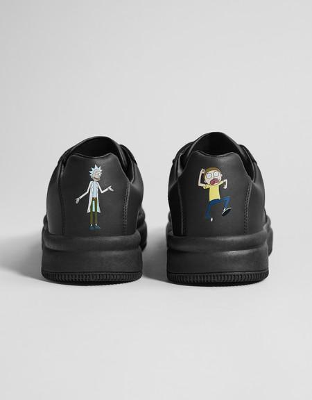Los fans de Rick y Morty no podrán dejar de llevar éstas zapatillas de Bershka todo el otoño