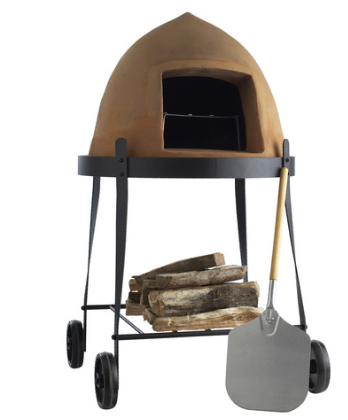 Horno de leña portátil, para pizzas y asados