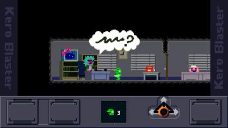 Studio Pixel lo vuelve a conseguir: un vistazo a Kero Blaster para el iPhone