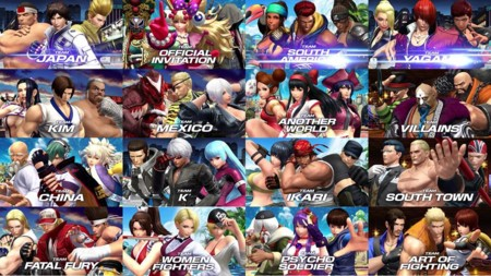 Kof Xiv Teams