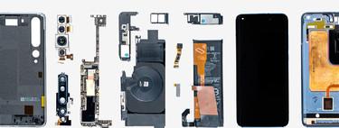 Xiaomi destripa el Mi 10 Pro para mostrarnos sus componentes y su sistema de refrigeración