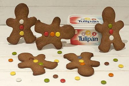Receta de galletas hombrecitos navideños de jengibre