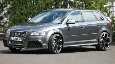 B&B modifica el Audi RS3 hasta los 510 CV