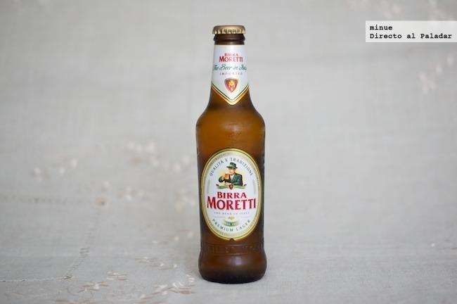 cata de cerveza Birra Moretti - 1