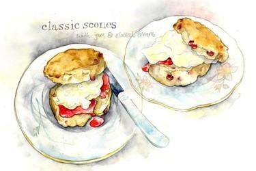 Amy Holliday lleva la comida a sus ilustraciones con vitalidad y belleza