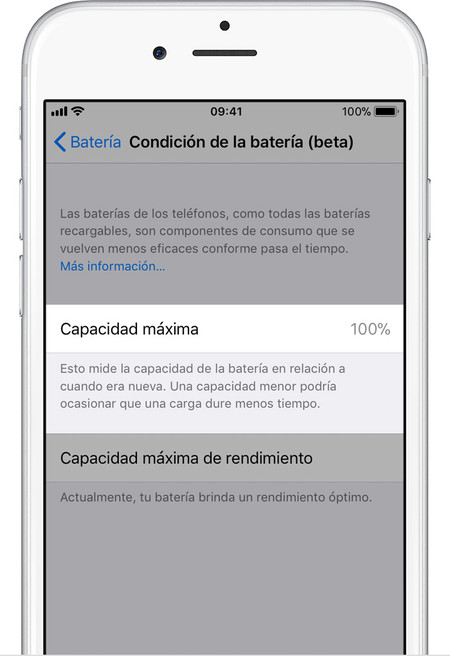 Ios11 Iphone6 Settings Battery Health Maximum Capacity