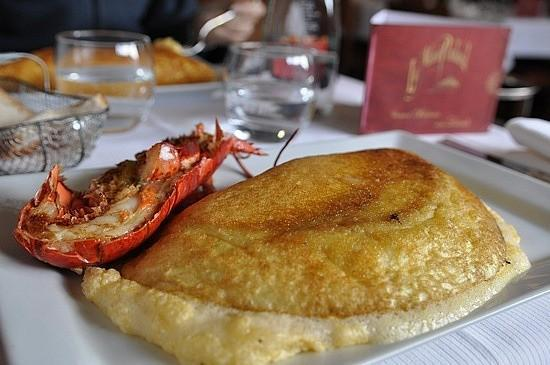 Turismo gastron mico las tortillas del mont saint michel - Omelette de la mere poulard ...