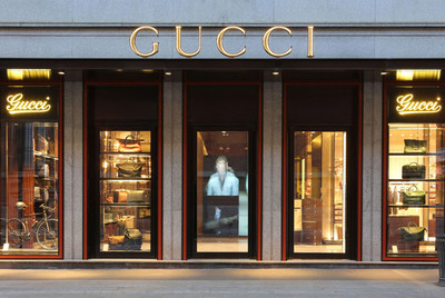 """Gucci abre una nueva boutique en Brera con """"Lapo's Wardrobe"""""""